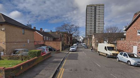 One of the stabbings took place in Waddington Street. Picture: Google Maps