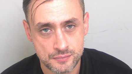 Edward Williams stole about £50,000 worth of designer clothes and shoes. Photo: Essex Police