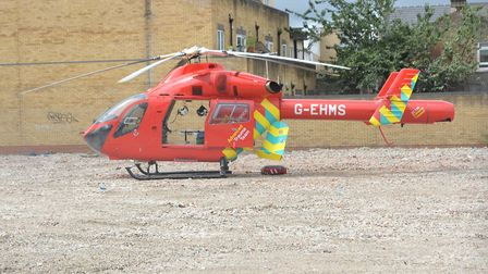 London's Air Ambulance. Picture: Steve Poston