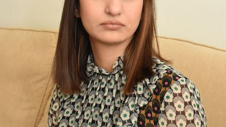 Jasmeet Boghal is angry over an unexpected £3000 bill from King George Hospital after her father had