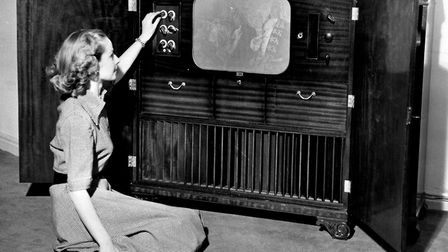 Television sets in 1951 took a long time to warm up. Photo: PA
