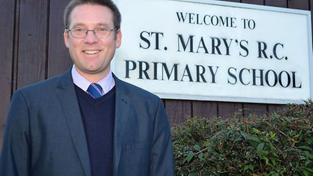 Alex Savage is the headteacher at St Mary's R.C Primary School in Lowestoft