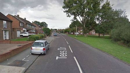 A man was stabbed in Tees Drive this morning. Picture: Google Maps