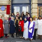 The plaque in honour of Daisy Parsons. Picture: Newham Council