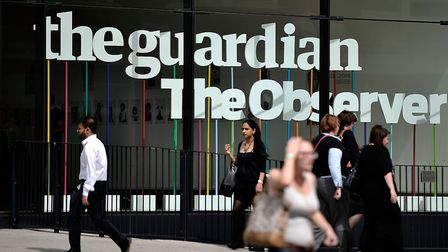 The offices of the Guardian newspaper. Picture: Bethany Clarke/Getty Images