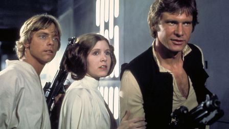 A scene from Star Wars .