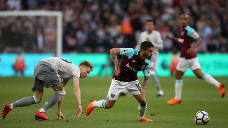 Manuel Lanzini is yet to play for West Ham United this term after suffering an ACL injury while with