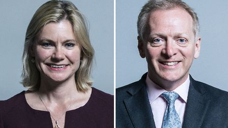Justine Greening MP and Philip Lee MP