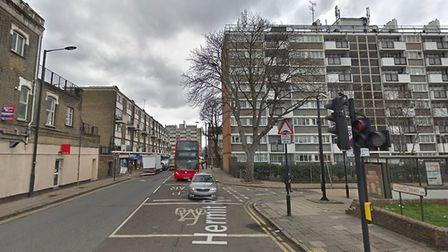 A man has been arrested following a stabbing in Canning Town on New Year's Eve. Picture: GOOGLE