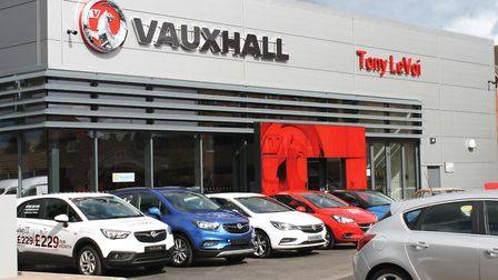Tony Levoi's modern showrooms are based in Romford and Lakeside