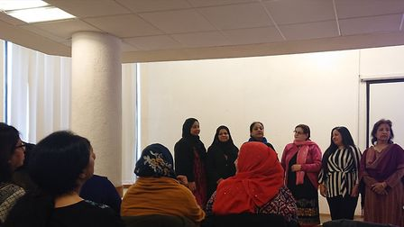 Awaaz was set up to give women a voice and it provides education, support and activites for females