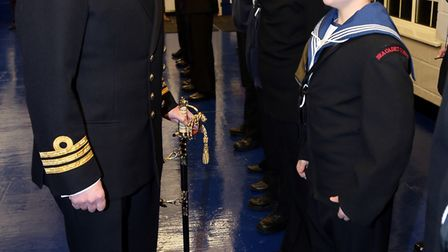 Hornchurch and Upminster Sea Cadets had their bi-annual inspection and were found to be ship shape b