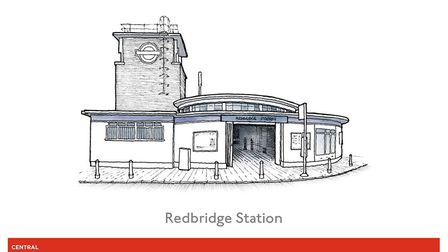 Redbridge Station is a Grade II listed building. Photo: Pound Place