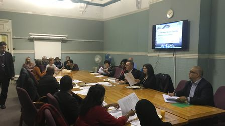 Karis White represented Newham mum's at Tuesday's meeting of the Health and Adult Social Care Scruti