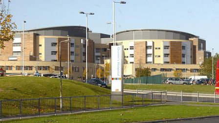 The woman was undergoing surgery at Queen's Hospital in 2012 when staff failed to spot a bleed. Phot