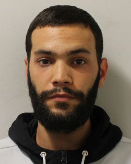 Joshwell Harris, 28, in connection with a burglary in Romsey Road, Dagenham, on August 19 last year