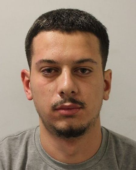 Ernes Aydin, 21, failed to appear in court to a case in which a rooftop property in Barking was dama