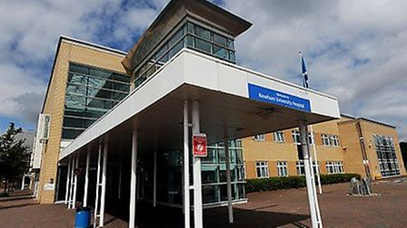 Newham University Hospital. Picture: Dave Mirzoeff