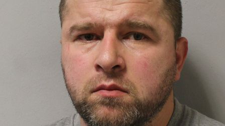 Erion Hoxha has been jailed for eight years. Pic: Met Police.