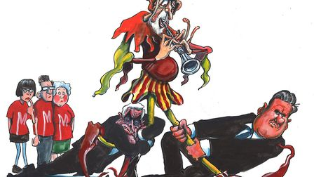 Jeremy Corbyn is Labour's Pied Piper. Picture: Michael Rowson