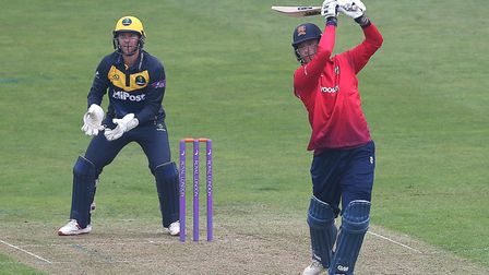 Tom Westley hits 6 runs for Essex during Glamorgan vs Essex Eagles, Royal London One-Day Cup Cricket