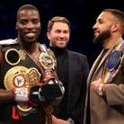 Lawrence Okolie (left) and Wadi Camacho will meet at the Copper Box Arena this weekend (pic: Steven