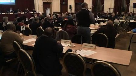 Councillors discussed the revelations about RMS at an extraordinary meeting in January. Picture: New