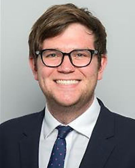 Cllr Joshua Chapman, Havering Council's cabinet member for housing. Picture: Havering Council