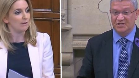 Andrew Rosindell MP and Julia Lopez MP both spoke at the knife crime debate in Westminster Hall yest