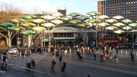 The Stratford Centre. Picture: KEN MEARS