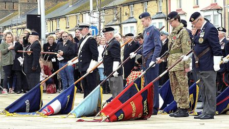 Lowestoft Remembrance Parade 2015