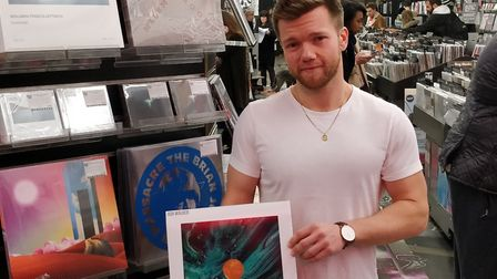 Ash Walker has been promoting his new track at Rough Trade East in Brick Lane.