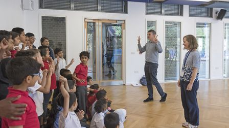 Year 3 class at Mayflower Primary School, Tower Hamlets 2018. Photo: � Tate