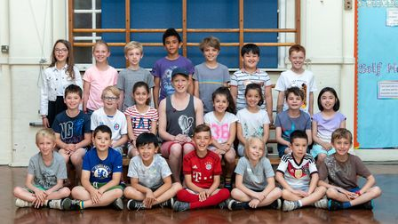 Year 3 class at Little Ealing Primary School 2018. Photo: � Tate