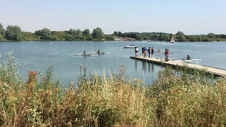 Ron Jeffries shared this picture of Fairlop Waters, Barkingside, last week, saying: Balmy sunny days