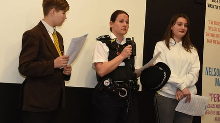 Sgt Danielle Manning admitted there were times when even she looked over her shoulder when walking t