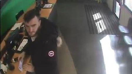 Essex Police want to speak to this man, Flavio Tortore, 30, about a road traffic collision in which