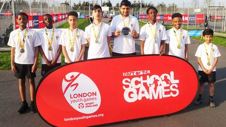 Langdon Academy won the Year Seven Boys Sportshall Athletics Competitions at the London Youth Games