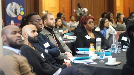 Academics at last year's BME Early Career Researcher conference. Picture: UEL