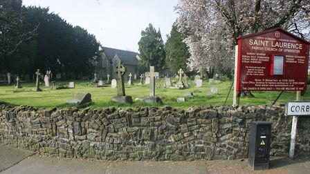 Alice Perrers is buried at St Laurence Church in Upminster. Picture: Steve Poston