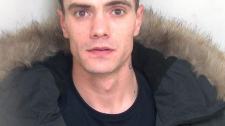 Matthew Squibb, aged 26, of Marlowe Gardens, was jailed on Wednesday, April 10 after pleading guilty