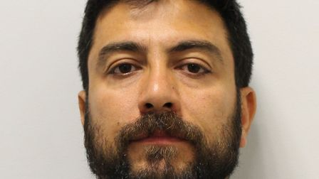 Kardo Kader, 39, has been jailed for four years and six months for handling stolen vehicles. Picture