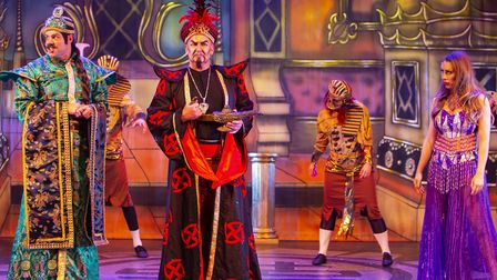 Kenneth More Theatre's pantomime is always a huge hit. Picture: ELLIE HOSKINS