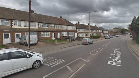 Christopher Holt was cycling along Rainham Road when he was knocked off his bike and died because of
