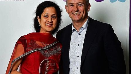 Bindu Sasikumar, who works at the North East London NHS Treatment Centre, earned the Health Support