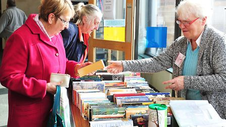 Friends of Lowestoft Library giant Book Sale.