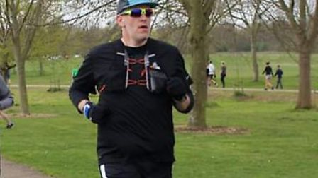 Kevin Benton will be running the London Marathon for AAA. Picture: Kevin Benton