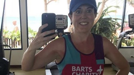 Catriona Rowland is running the London Marathon for Barts Charity. Picture: Barts NHS Trust