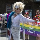 Romford Pride, Havering's first ever LGBT+ event took place with a march along South Street. Photo b