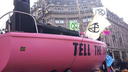 More than 400 people have been arrested in the Extinction Rebellion protests which have brought part
